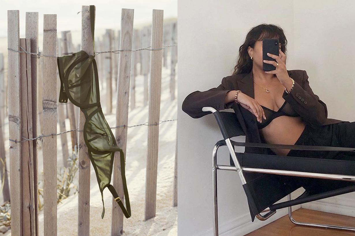 CUUP bra lingerie underwear minimal simple