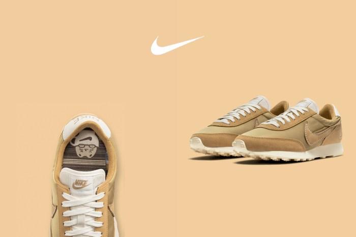 怦然心動:Nike Daybreak 茶乳色,差點錯過限定的燒火小細節!