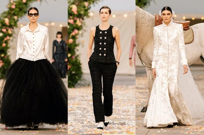 沒有華麗堆砌:Chanel SS 2021 高訂系列,一場小而美的家庭聚會!