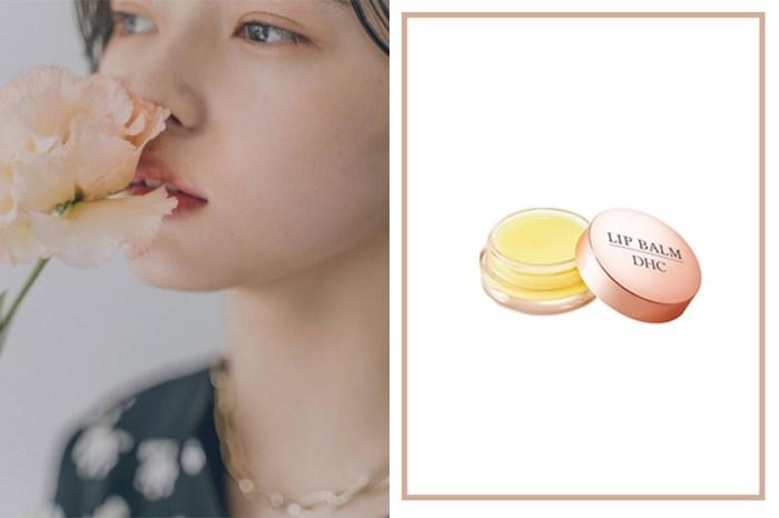 一推出就被搶瘋:DHC 升級版橄欖潤唇膏,日本女生把它這樣用!