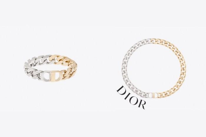 女生也能駕馭:Dior 男裝區發現這條雙色鏈,用陽剛襯出女人味!