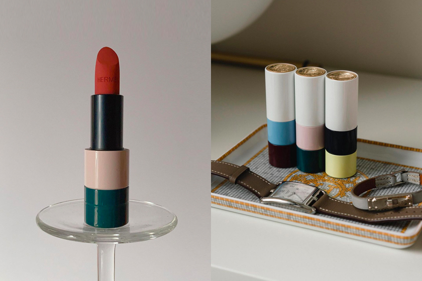 hermes ss21 rouge hermes limited edition collection make up beauty