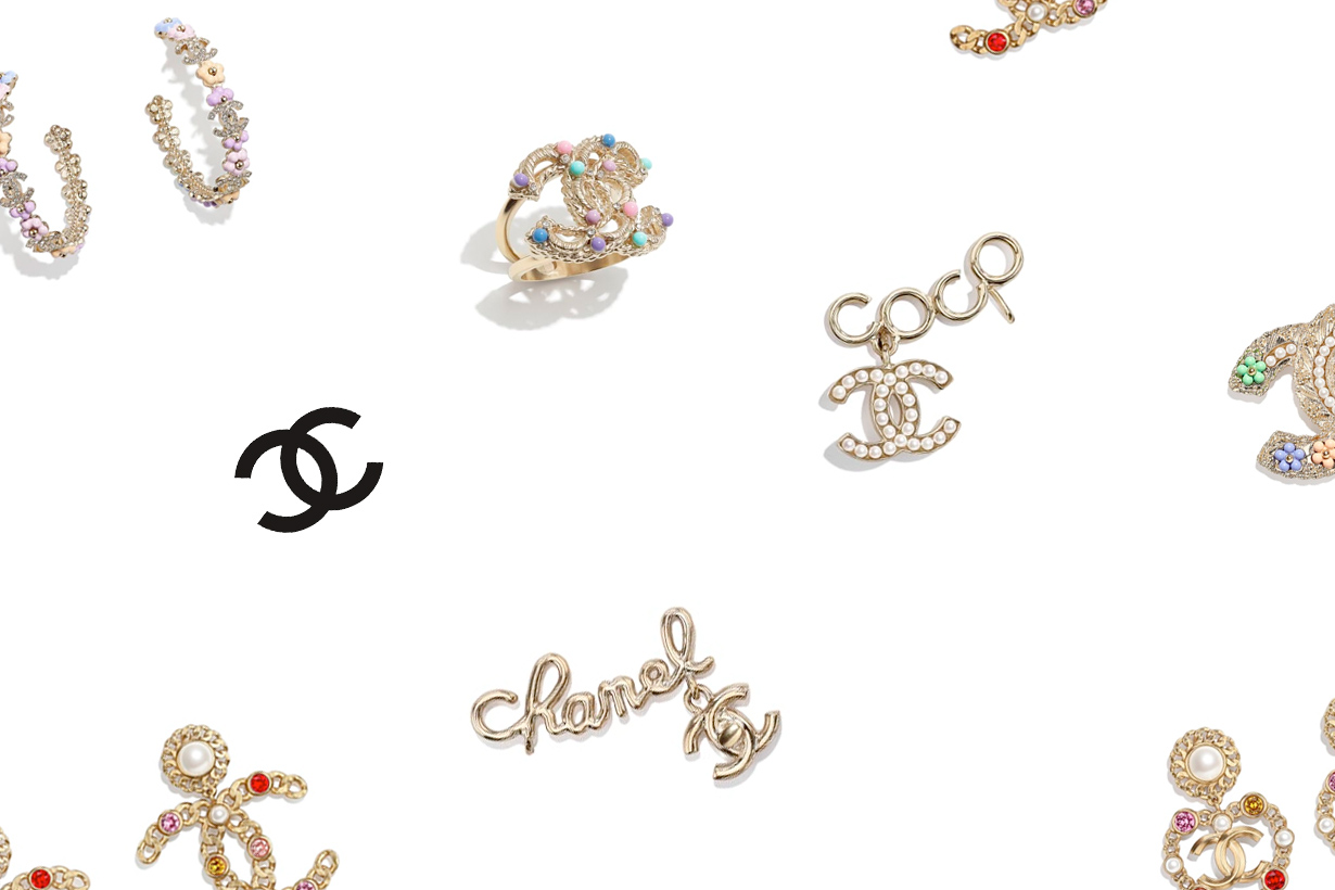 CHANEL earrings pre spring ss jewelry