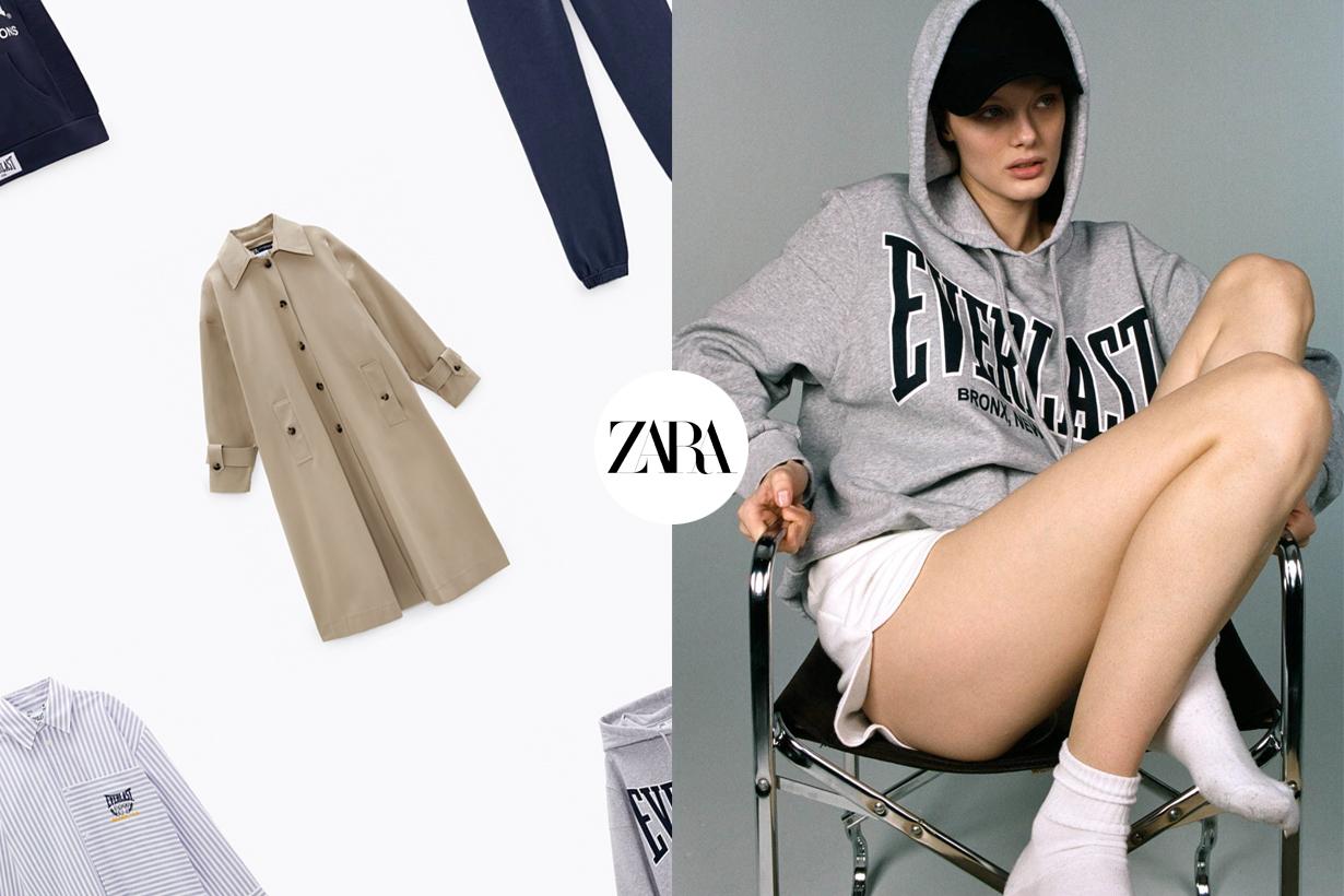 zara everlast collabration when where buy 2021 hoodie sweatshirt