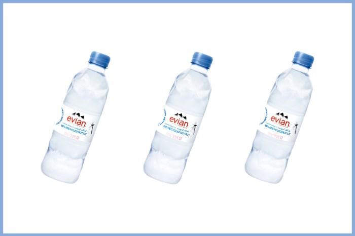 Evian 推出新瓶身,卻像捏爛的寶特瓶?Virgil 設計背後藏意義!