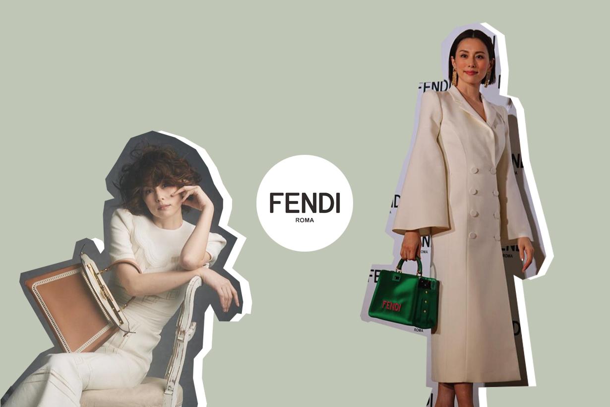 fendi yonekura ryoko ambassador first japanese actress 2021 queen drama