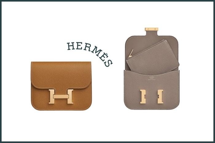 Hermès 最高 CP 值之選 :一包三揹,還附拉鍊零錢包的 Constance Slim!
