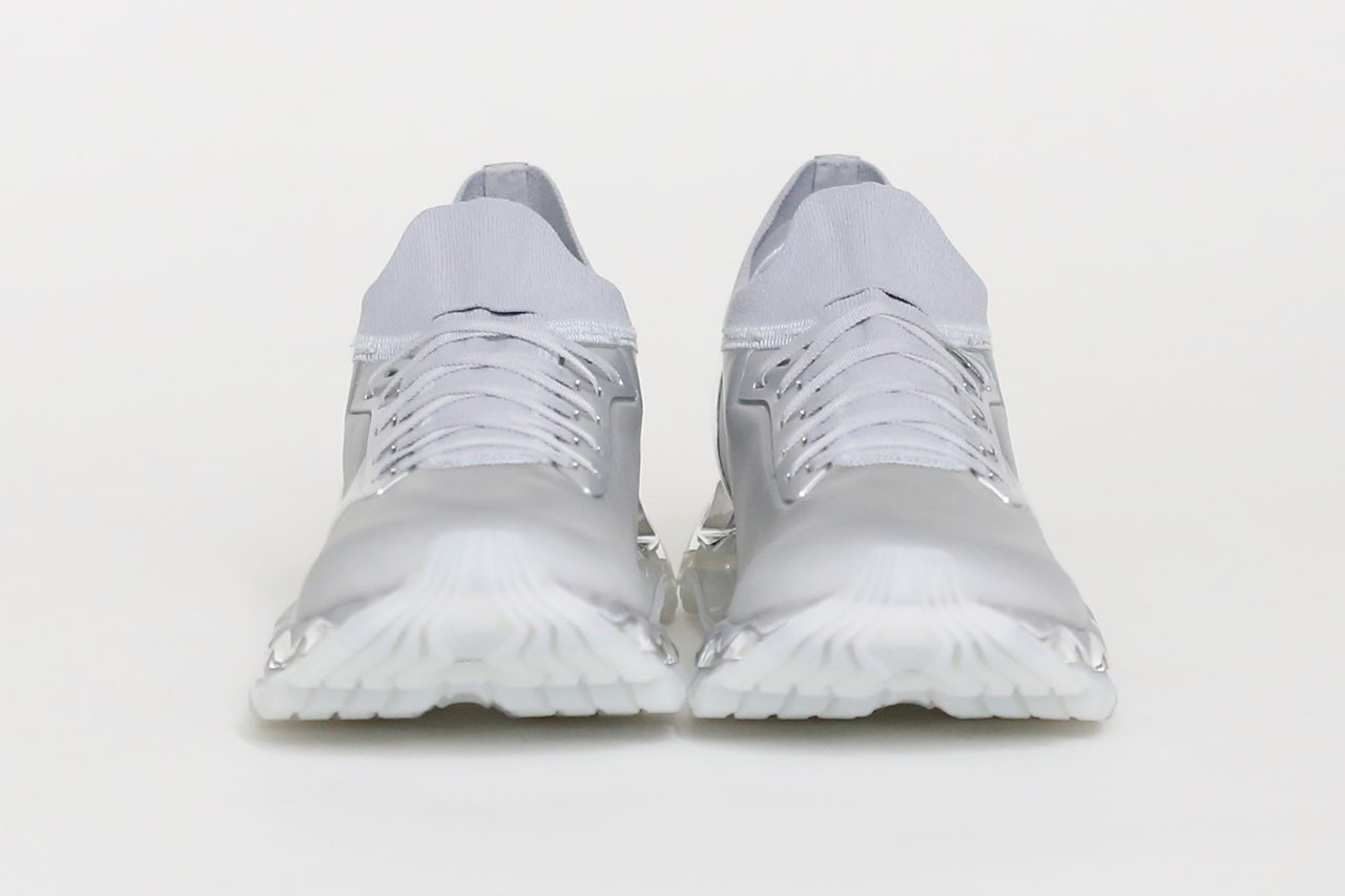 mizuno hajime sorayama wave prophecy sneaker collab release info