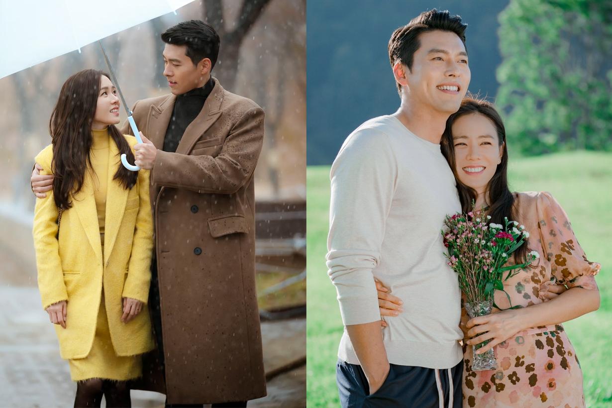 Hyun Bin Son Ye Jin Crash Landing On You tvN Drama Korean Drama APAN Star Awards Celebrities Couples Korean idols celebrities actors actresses