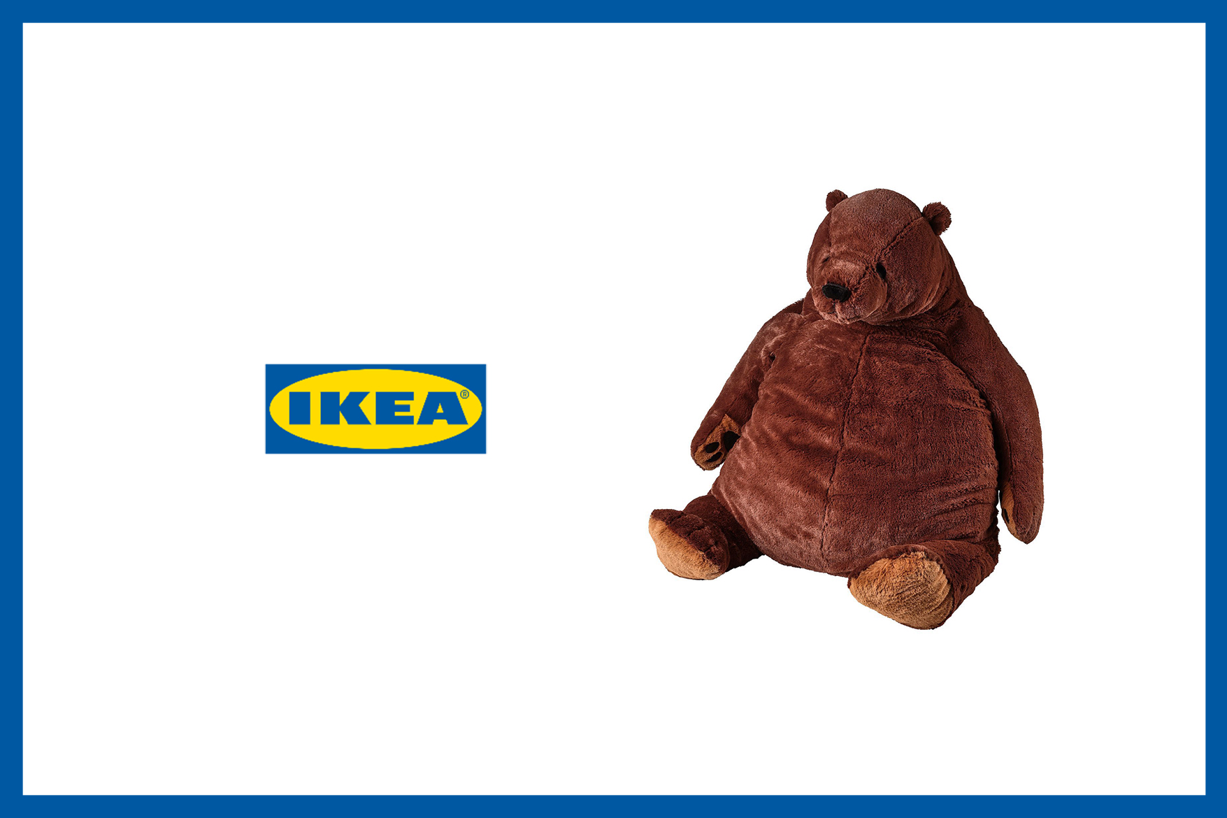 ikea bear doll twitter instagram hit