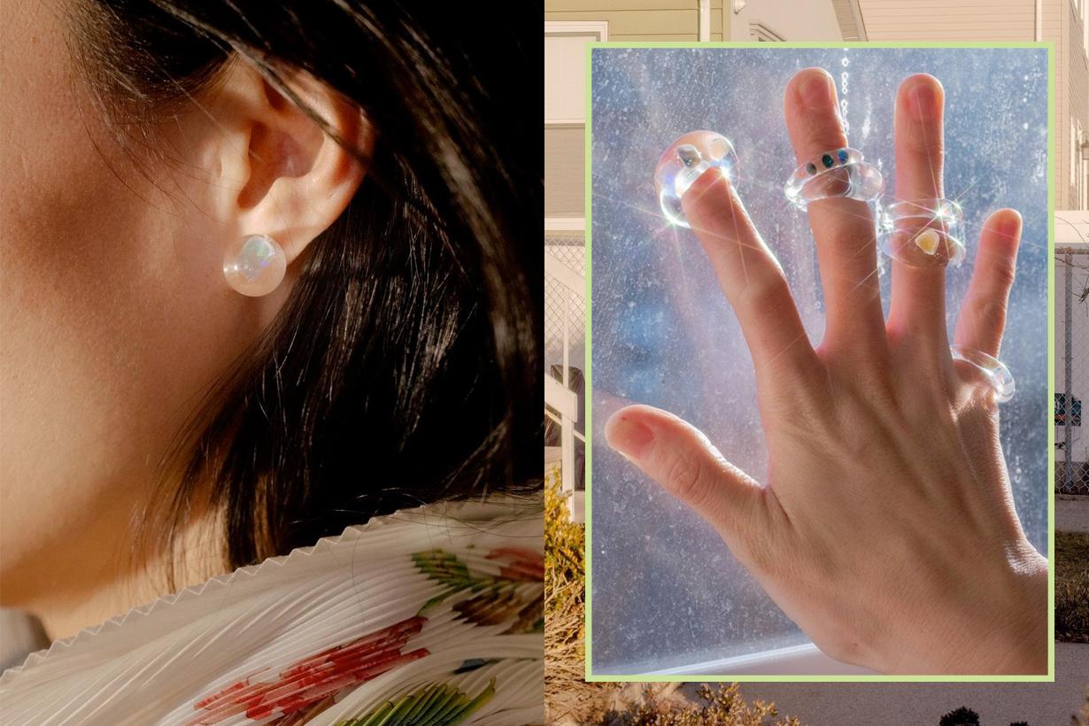 KEANE gigi hadid new york glass accessories where buy