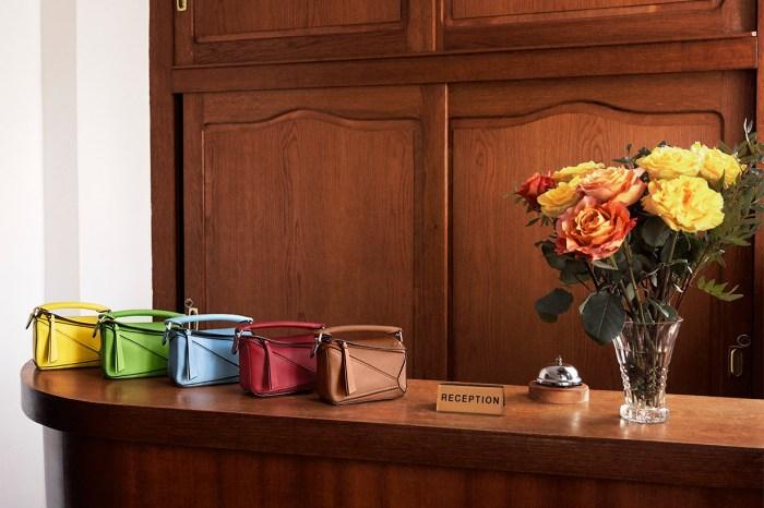 時尚達人也喜愛的輕巧款:Loewe推出超迷你版本 Puzzle 手袋!