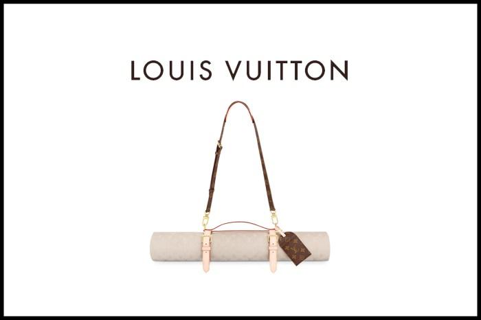 一個惹爭議的奢華瑜珈墊,為什麼卻讓人更愛 Louis Vuitton 了?