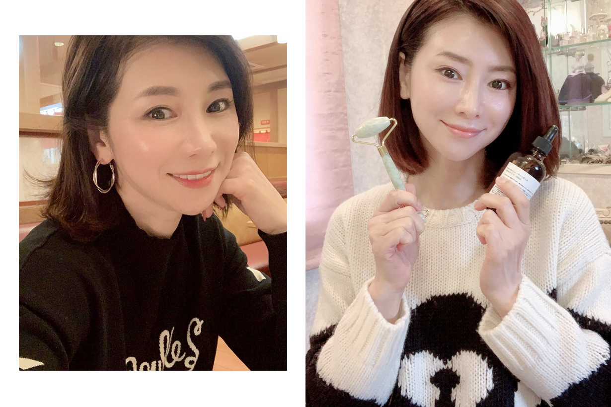 mizutanimasako massage beauty oil japanese women anti age small face
