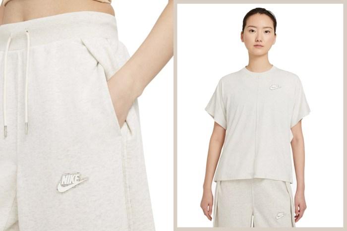 一見傾心的淺米灰系,未上架先瞄準 Nike 這系列居家衛衣、棉褲!
