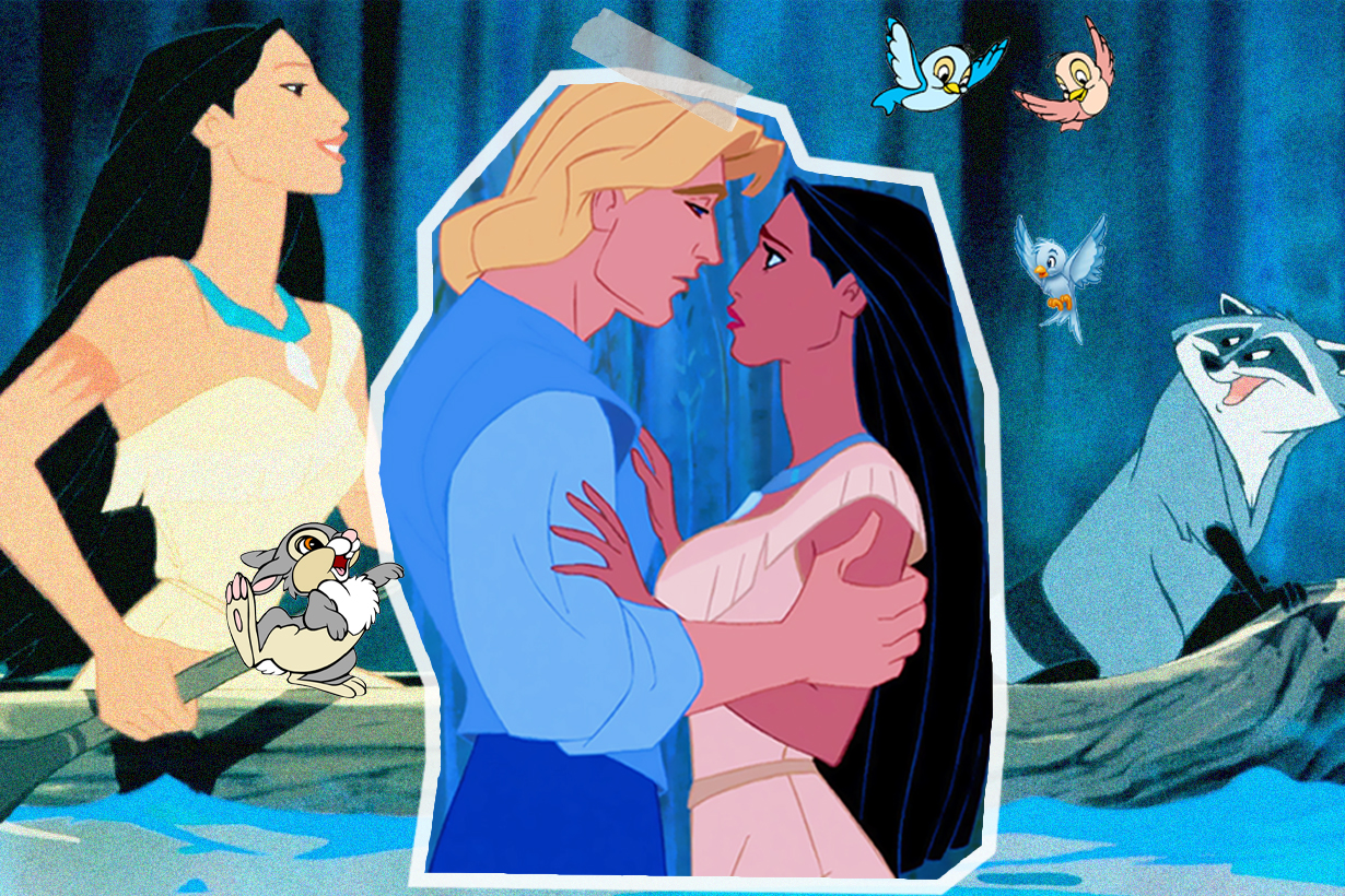 Pocahontas Disney Princesses Fairy Tales Disney Cartoon Disney Movies John Smith Color of the Wind