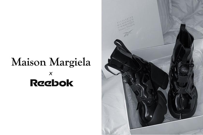 kim kardashian Maison margiela reebok classic leather sneakers shoes