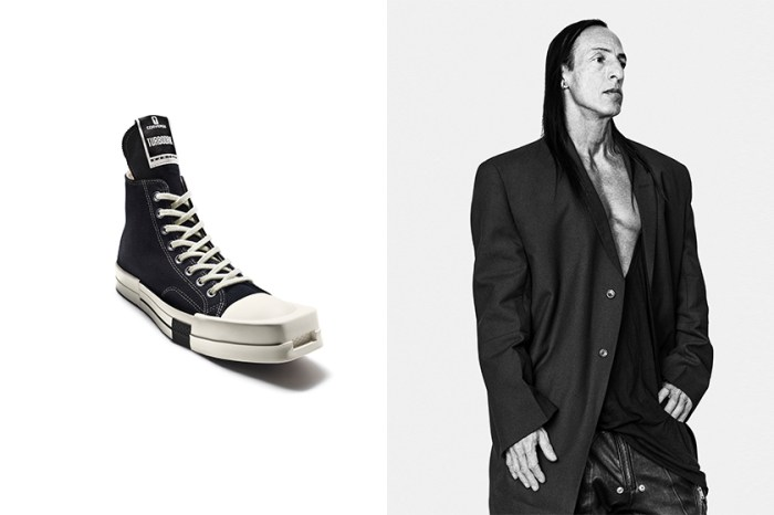 Converse x Rick Owens 聯名鞋款,因一個設計令帥女生傾心?