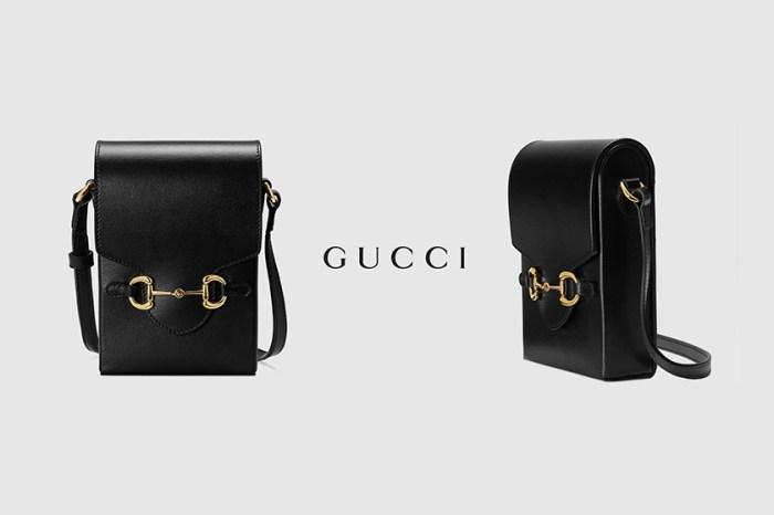 率性極簡:Gucci 1955 Horsebit 迷你肩背包,男女生都搶著入手!