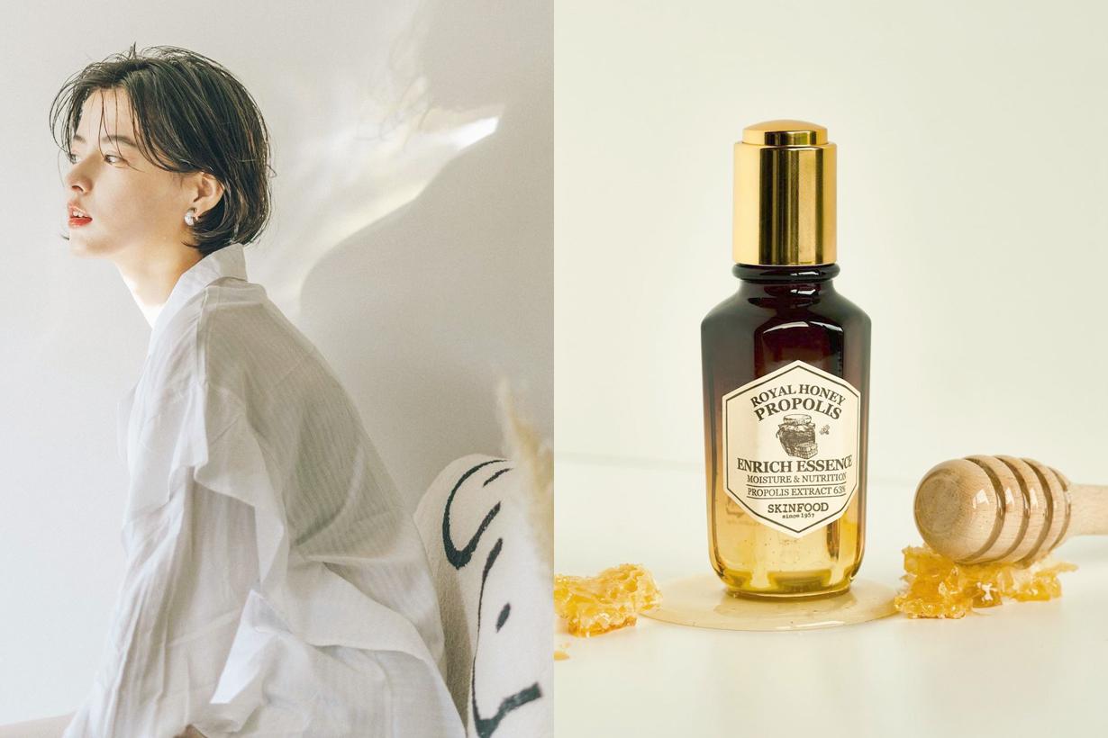 Skinfood Royal Honey Propolis Enrich Essence Korean skincare antioxidants  antibacterial  anti-inflammatory