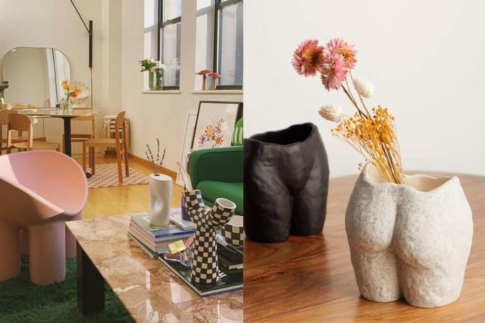 形狀獨特的個性美!這種設計感花瓶成為時尚紅人的熱門家居佈置