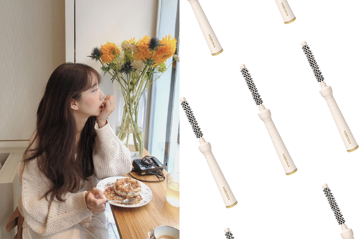 Vodana Gorgeous Root Volume Stick Brush Hairstyles Hair styling tools Hair Volume Korean girls