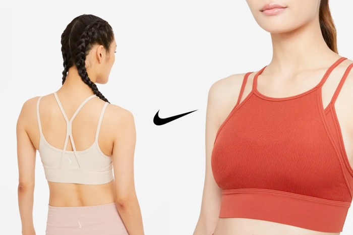 差點錯過它:時髦線條+顯白配色,這件 Nike 運動內衣低調熱銷!