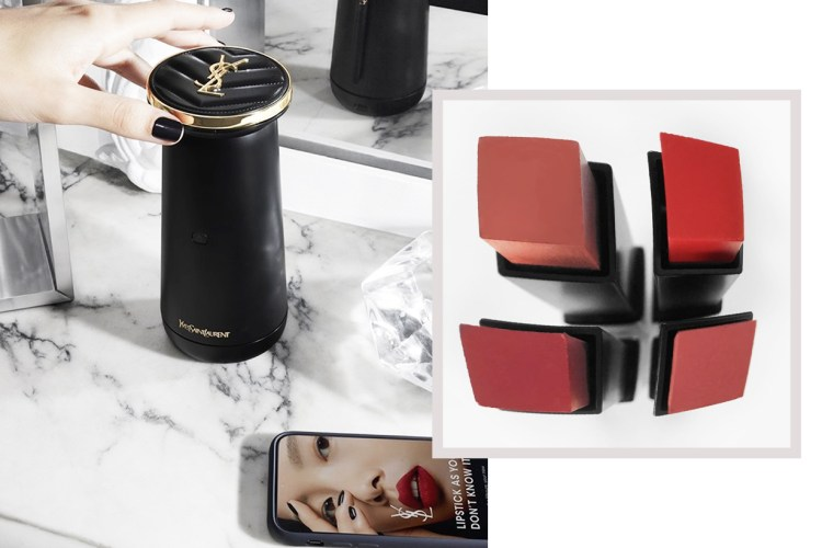 YSL 推出高科技唇膏調色機,有了它以後就不再需要亂買唇膏了!