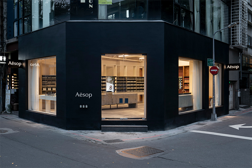 Aesop Zhongshan District New Concept Store Taipei