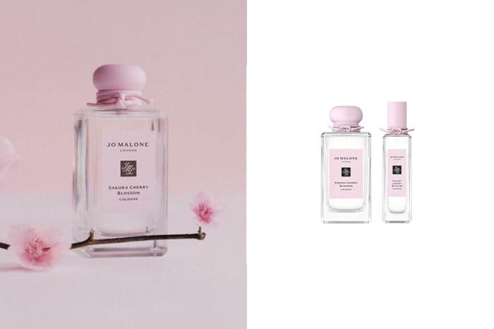 屬於春天的櫻花氣息:Jo Malone London 嫩粉色限定瓶身,讓所有女生都瘋狂!