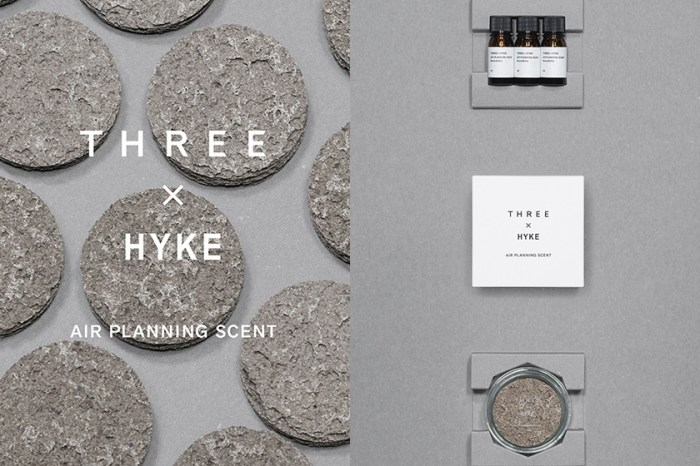 極簡呈現:日系彩妝 THREE 與 HYKE 合作推出,讓天然香氛精油為空間帶來質感!