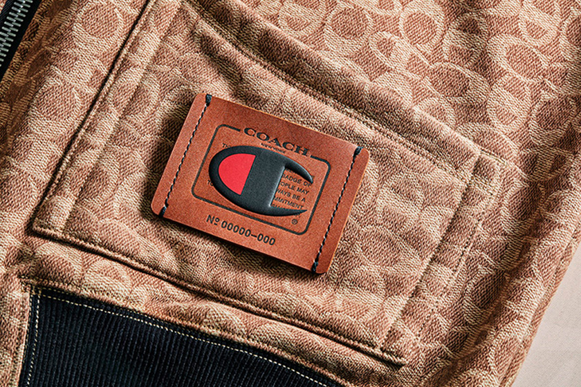 Coach x Champion Collaboration Clothing Handbags