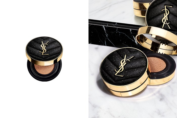 惹時髦女生注意:YSL Beauty 最受歡迎的皮革氣墊換上「夜色星河」限定外型!