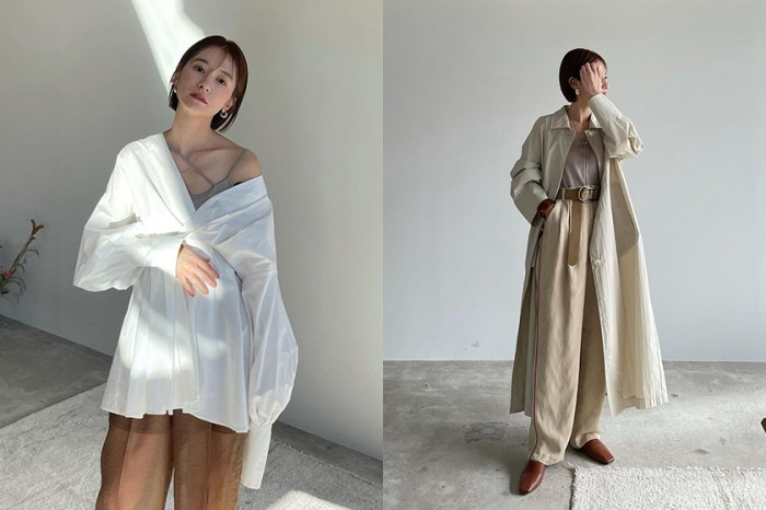 用裸色調穿出知性日常:從時髦博主松本惠奈的 Instagram 尋覓初春的穿搭範本!