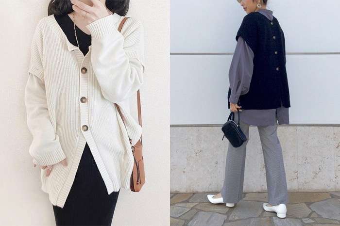 平價高質感之選:GU 這件能有 4 種穿法的毛衣,迅速受到日本女生熱愛!
