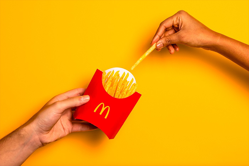 McDonalds New Package Design