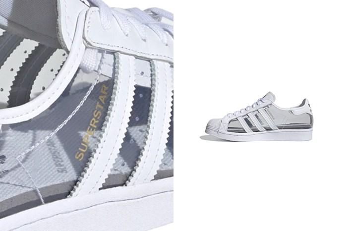 適合喜歡與眾不同的你:adidas Originals 為經典 Superstar 帶來夢幻透明鞋身設計!