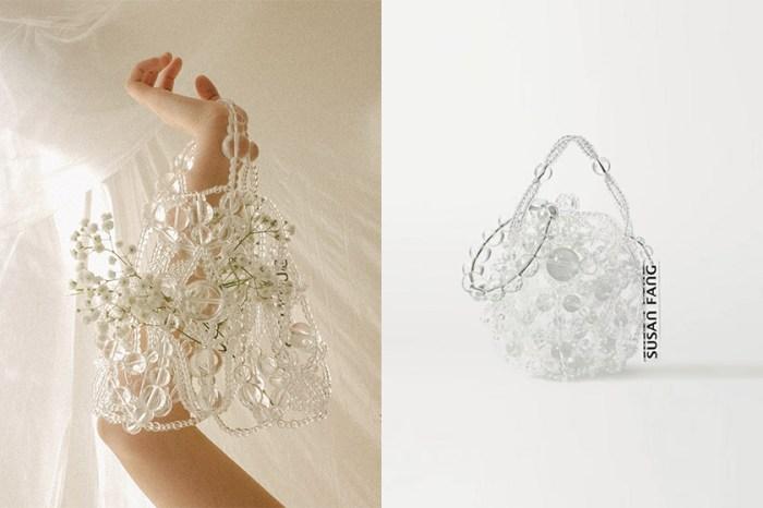 仙氣滿滿:喚起每個女生的浪漫靈魂,如玻璃泡泡般的 Susan Fang 串珠手袋!