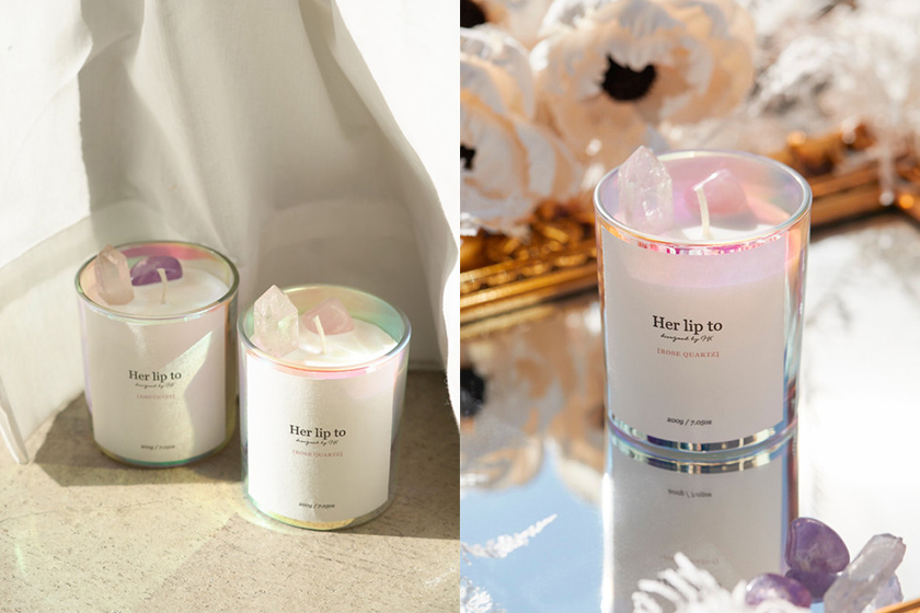 Her lip to Self Love Crystal Candle Japanese Girl