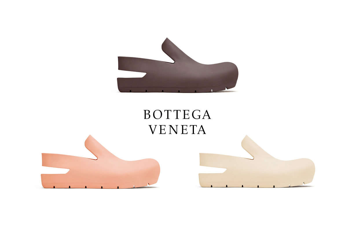 bottega veneta shoes salone 21 ss daniel lee puddle clog