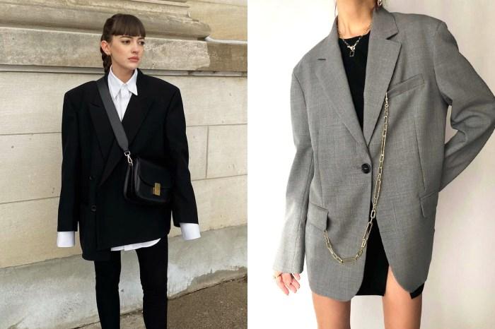 在這乍暖還寒的天氣中,一件百搭的西裝外套顯得份外重要!