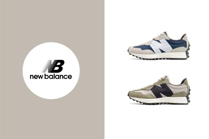 絕美 327 新配色,New Balance 還在鞋內側藏了驚喜!