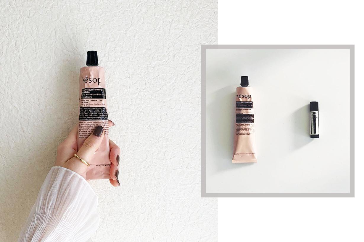 AESOP RESURRECTION AROMATIQUE HAND BALM Japanese Girls Hand Cream Instagram Hit