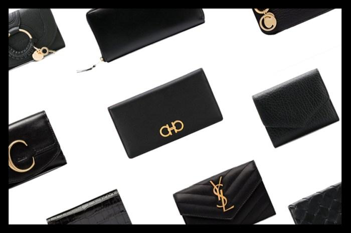 HK$3000 有找!這 10 款黑色名牌銀包,全都是永恆經典款!