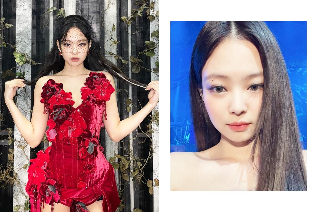 BLACKPINK Jennie Lisa Jisoo Rose The Show 2021 Online Concert Hera Cosmetics Lipstick Rouge Holic celebrities makeup cosmetics korean idols celebrities singers girl bands