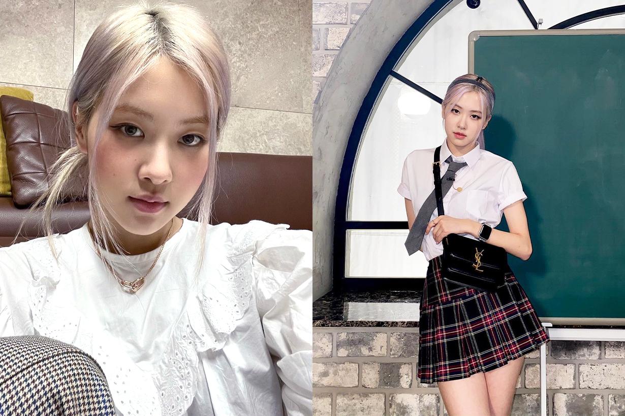 BLACKPINK Rosé YSL Saint Laurent Belt Accessories Celebrities Style Korean idols celebrities singers girl bands