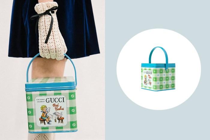 最華麗的糖果鐵盒,Gucci Mad Cookies 手袋正式上架!