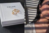 比手袋更脫俗:一枚枚 Celine 極簡耳環,內斂俐落的恬淡美!