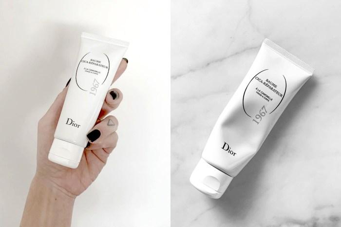 只需 72 小時就可以讓肌膚煥然一新!Dior 這款積雪草修護霜剛推出就成為熱話!