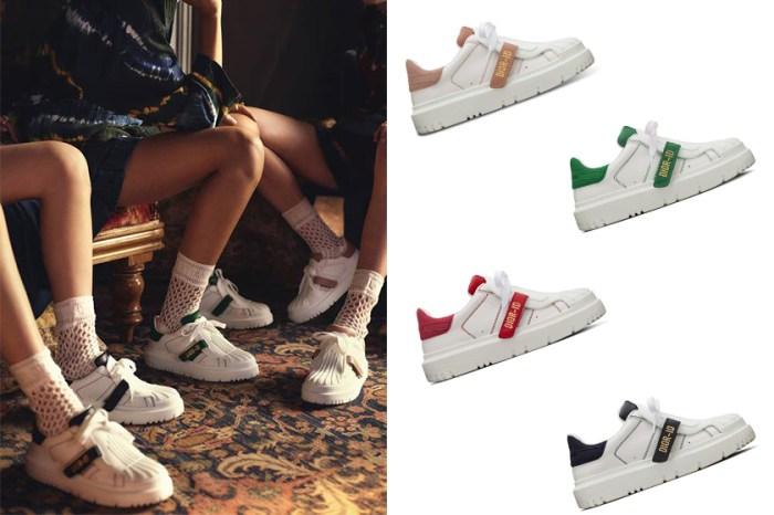 復古百搭之選:Dior 推出的這對小白鞋,未開賣就成搶手貨!